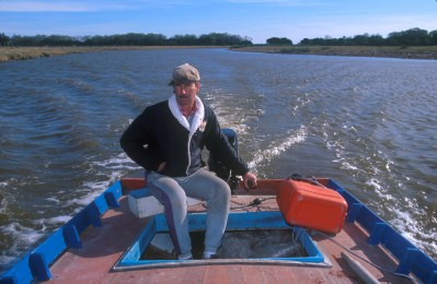 Uruguay, Rocha, arroyo de Balizas, visita del Arroyo, retrato
