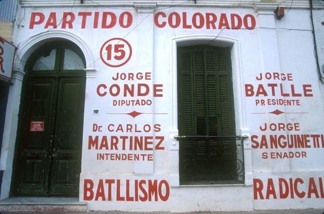 Uruguay, Sede partido politico Colorado