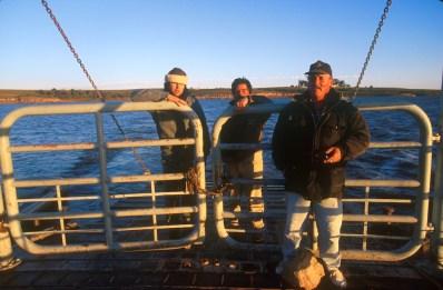 Uruguay, Tacuarembó, San Gregorio de Polanco, Cruzando el río Negro. retrato