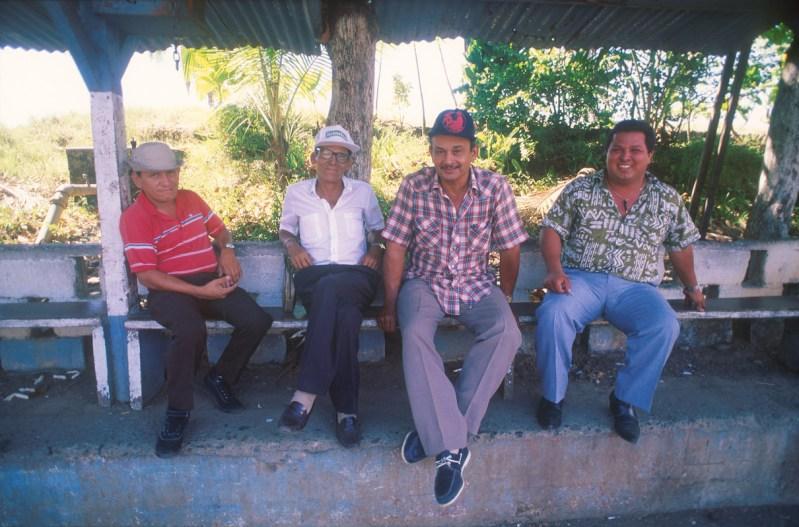 Costa Rica, Puerto Limón, taxistas