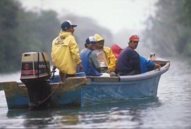 Costa Rica, Tortuguero, río Tortuguero