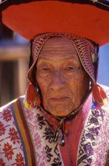 Cusco, Fiesta Inti Raymi, retrato
