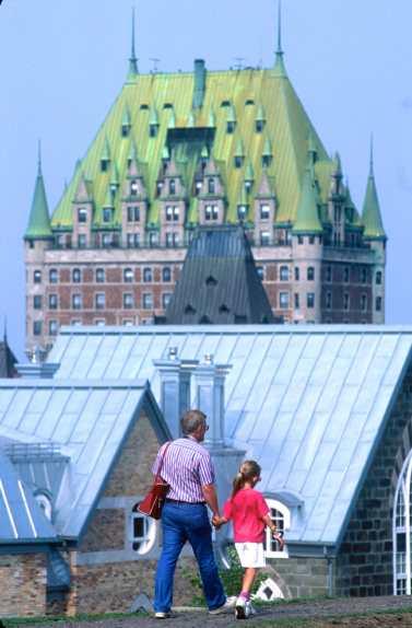 Canadá, Quebec, Castillo Frontenac