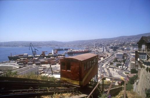 Chile, Valparaiso, asensor Artilleria