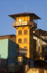 Chile, Valparaiso, acensor, transporte