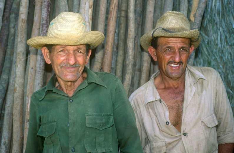 Cuba, Pinar del Río, hora del descanso, plantaciones, Tabaco