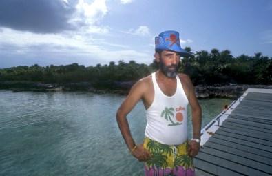 Cuba, Cayo Iguana, cuidador de la Isla, retrato