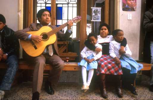 Uruguay, Montevideo, Barrio Sur, Candombe, dia de Candombe