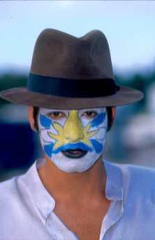 Uruguay, Carnaval, Murgista, retrato