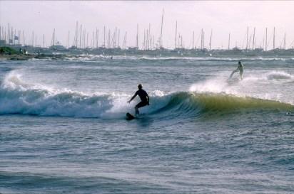 Uruguay, Maldonado, Punta del Este, surfista