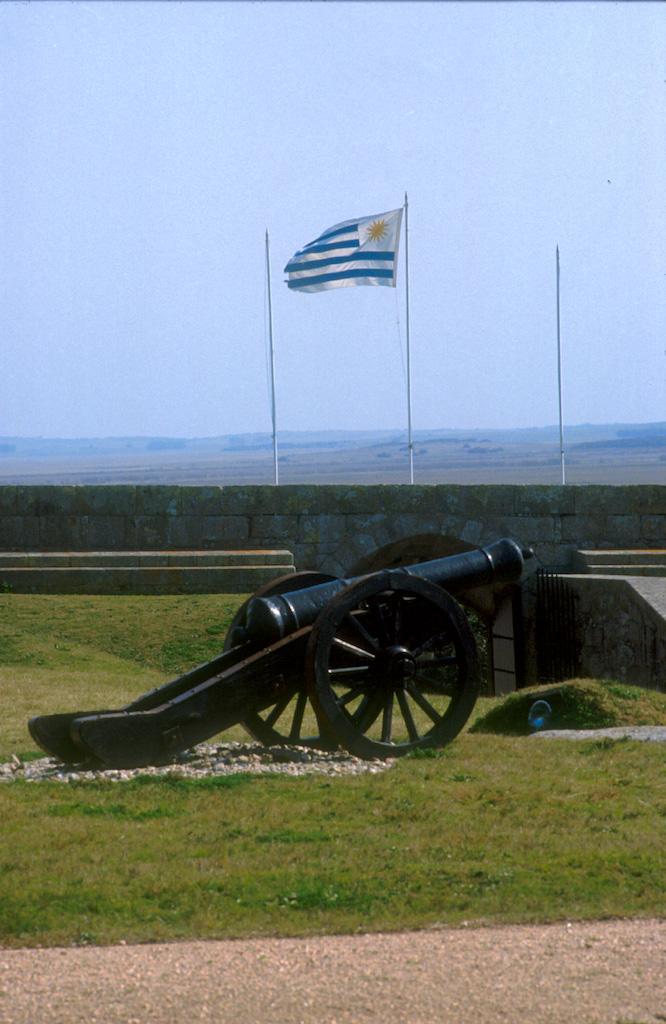 Uruguay, Dp, Rocha, Fuerte Santa Tereza