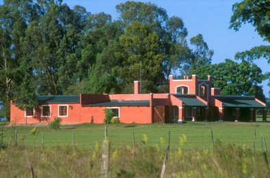 Uruguay, Rocha, casa privada