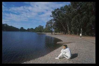 Buenos Aires, parque Palermo.