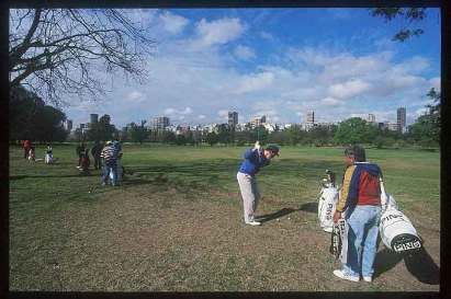 Buenos Aires, Golf Palermo.
