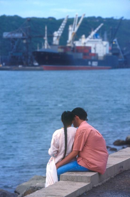 Sudáfrica, Natal, Durban, enamorados