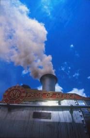Sudáfrica, tren Rovos Rail, Pretoria, maquina