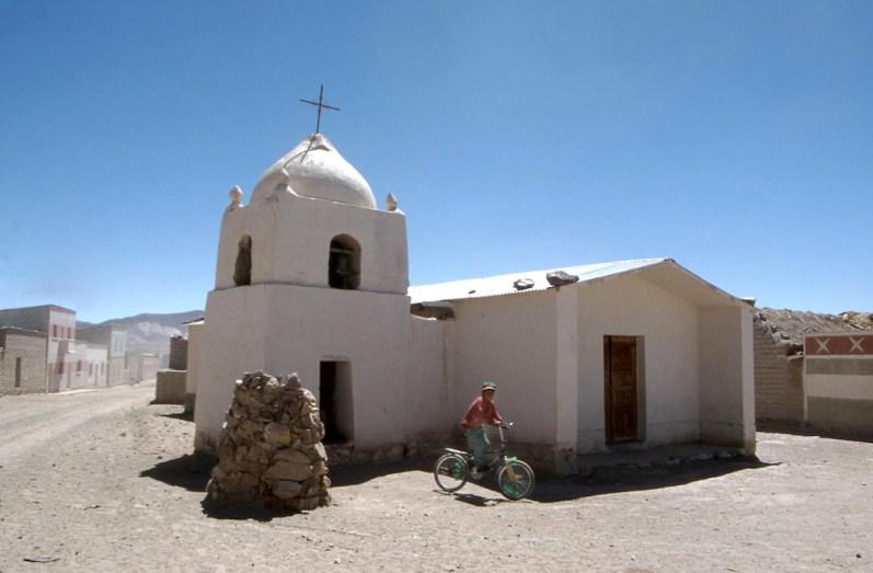 Bolivia, ruta de Potosi a Uyuni, bicicleta