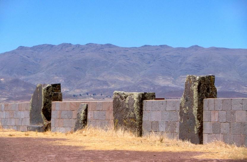 Bolivia, Altiplano, Tiwanaku-Ruinas Aymara