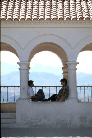 Bolivia, Sucre, Mirador de la recoleta