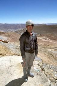 Bolivia, Potosi, Cerro Rico, mineros,retrato