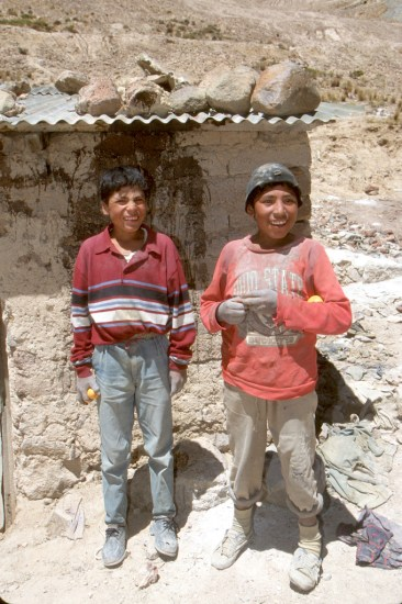 Bolivia, Potosi, Cerro Rico, mineros, retrato