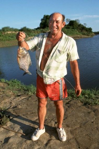 Bolivia, Beni, rio Mamore, piraña, retrato