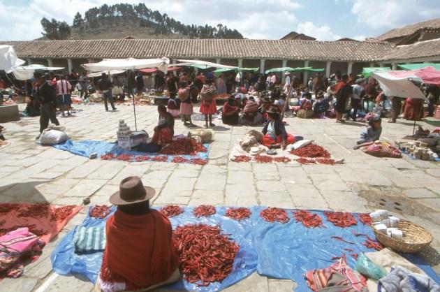 Bolivia, Chuquisaca, Tarabuco, feria dominical