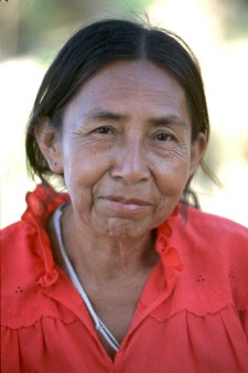 Bolivia, Beni, cocinera, Reina de Enin, retrato