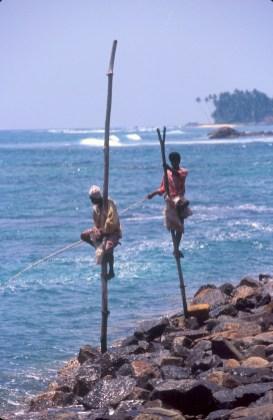 Sri Lanka, Weligama, pescadores