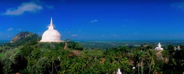 Sri Lanka, Mihntale, Roca del Templo, Dagoba, Buda