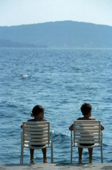 Croacia, playa de Zadar