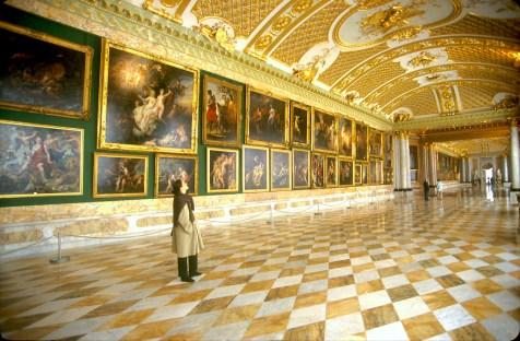 Alemania, Brandenburgo, Potsdam, parque Sanssouci, galería de los retratos
