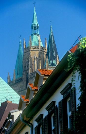 Alemania, Turingia, Erfurt, catedral
