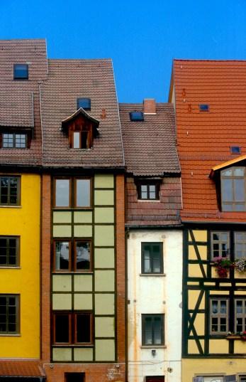 Alemania, Turingia, Erfurt, arquitectura