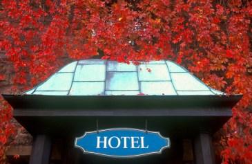 Alemania, Turingia, Eisenach, Castillo de Warburg, hotel, rojo