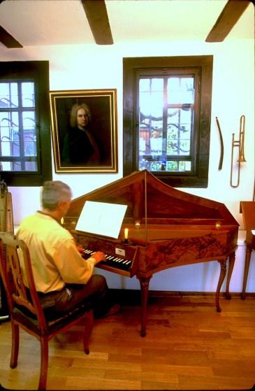 Alemania, Turingia, Eisenach, casa de Johann Sebastian Bach