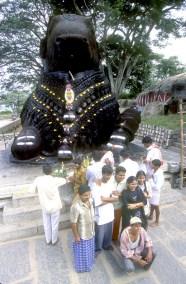 India, Mysore, Fiesta de Dussehra, Karnataka,templo del Búfalo