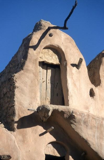 Túnez, el Ferch, Ksar, puerta