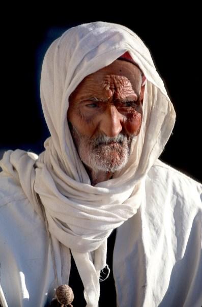 Túnez, el Ferch, Medenine, Ksar, hilador, retrato