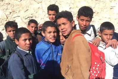 Túnez, Gran Sur, Medenine, hora del recreo