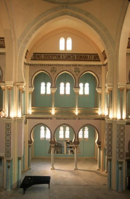 Túnez, Cartago, catedral, galería de arte