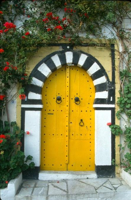 Túnez, Sidi Bou Said, puerta