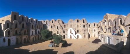 Túnez, el Ferch, llamados Ksar, antiguos graneros