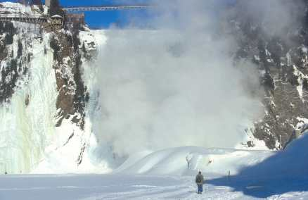 Canadá, Quebec, Chute Montmorency