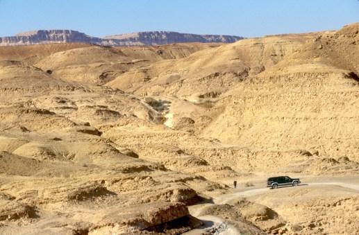 Israel, desierto del Negev