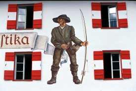 Achenkirch, Lago Achensee Pintura Mural