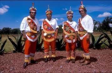 México, El Tajin, Los Totonacas Hombres Voladores, retrato