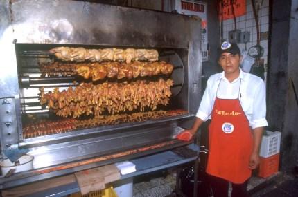 México, Puebla, comida para llevar, retrato