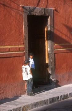 México, San Miguel de Allende, puerta