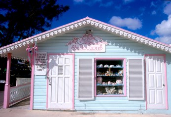 Islas Cayman, Grand Cayman, casa de George Town